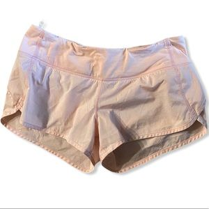 Lululemon Shorts Shiny Pink Size 6